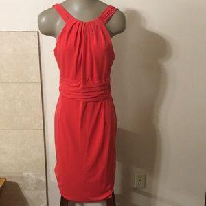 David Meister Back Zip Dress 12